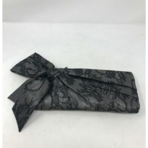 Valentino Lace Bow Clutch 145-36-51119